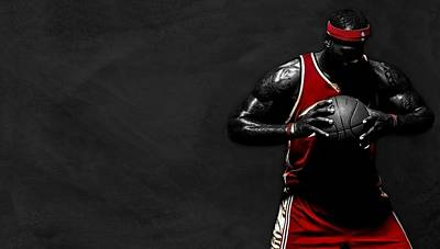 Lebron James Poster by Movie Poster Prints