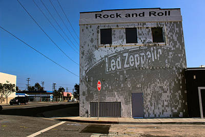 Led Zeppelin I Poster by RJ Aguilar