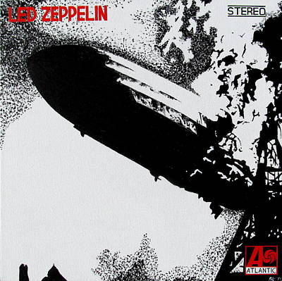 Led Zeppelin Poster by Mr Minor
