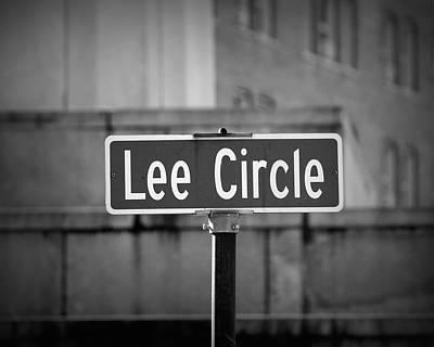 Lee Circle Poster
