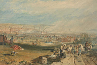 Leeds Poster by Joseph Mallord William Turner