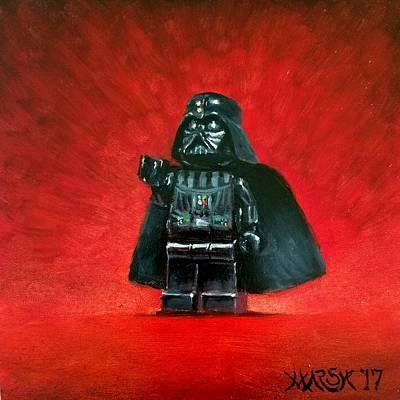 Lego Vader Poster