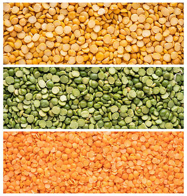 Legumes Triptych Poster