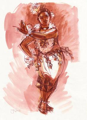 Lelei, Dancer Of Tonga Poster