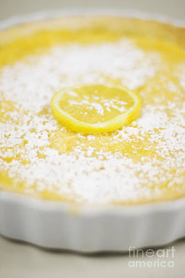 Lemon Curd Tart Poster by Jorgo Photography - Wall Art Gallery