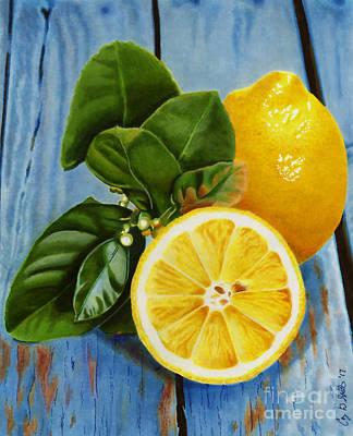Lemon Fresh Poster
