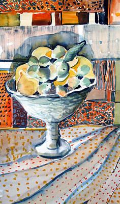 Lemon Lime Poster by Mindy Newman