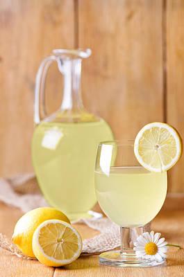 Lemonade Poster by Amanda Elwell