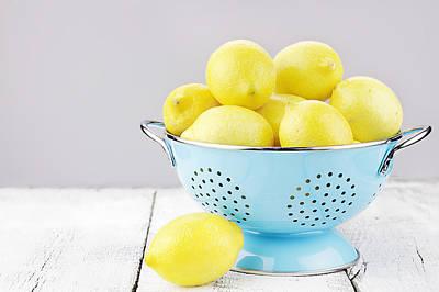 Lemons Poster by Stephanie Frey