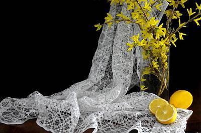 Lemons'n Lace Poster