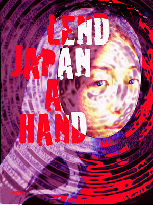 Lend Japan A Hand Poster by Seth Weaver