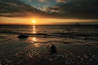 Lendalfoot Sunset Poster
