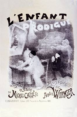 L'enfant Prodigue - The Prodigal Son - Retro Travel Poster - Vintage Poster Poster