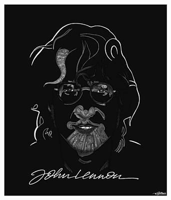 Lennon Poster by Michael Spatola
