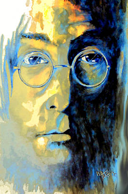 Lennon Poster by William Walts