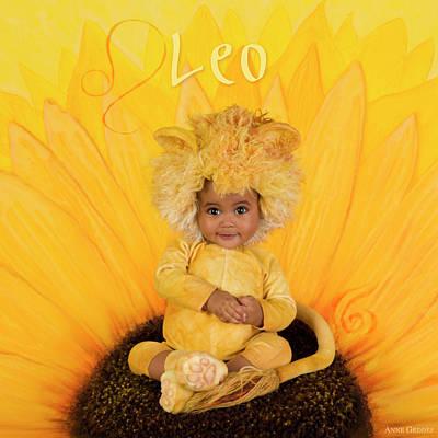 Leo Poster by Anne Geddes
