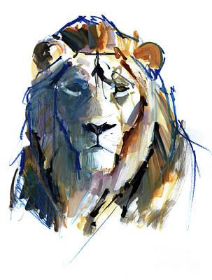 Leo Poster by Mark Adlington