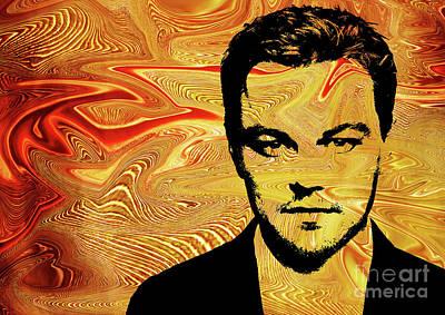 Leonardo Dicaprio Poster by Prar Kulasekara