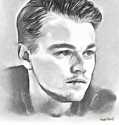 Leonardo Poster by Wayne Pascall