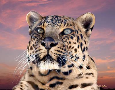Leopard Portrait Number 3 Poster