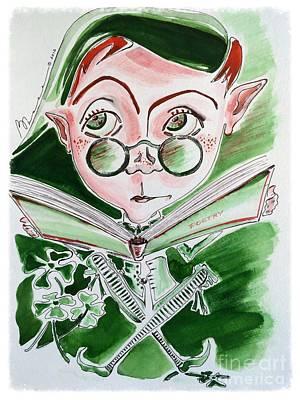 Leprechaun Limericks Poster
