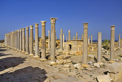 Leptis Magna Poster