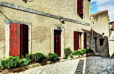 Les Baux De Provence 8 Poster by Mel Steinhauer