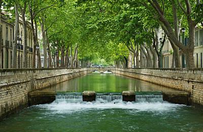 Les Quais De La Fontaine Poster by Scott Carruthers
