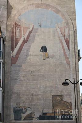 L'escalier By Fabio Rieti Poster