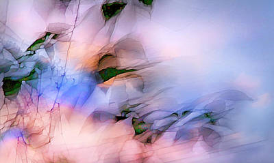 Poster featuring the photograph Let The Winds Of The Heavens Dance by Theresa Tahara