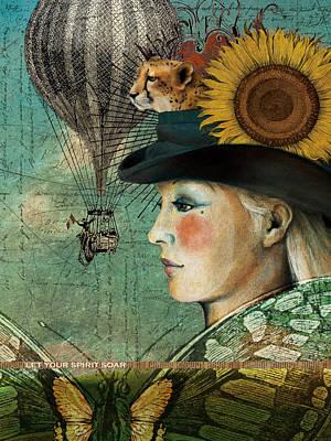 Let Your Spirit Soar Poster by Katherine DuBose Fuerst