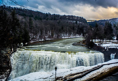 Letchworth State Park Poster