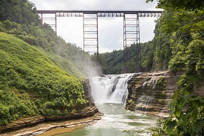 Letchworth Upper Falls Poster