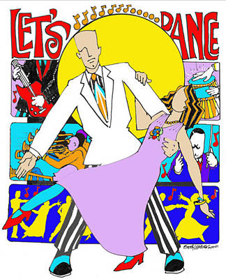 Let's Dance A Tribute To David Bowie Poster