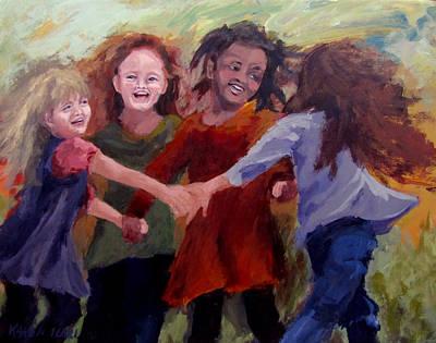 Lets Dance Poster by Karen Ilari