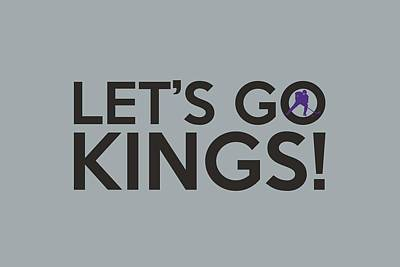 Let's Go Kings Poster