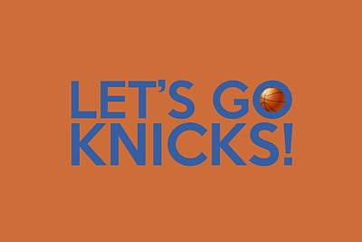 Let's Go Knicks Poster