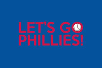 Let's Go Phillies Poster