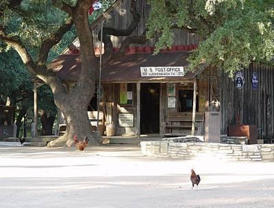 Let's Go To Luckenbach Texas Poster