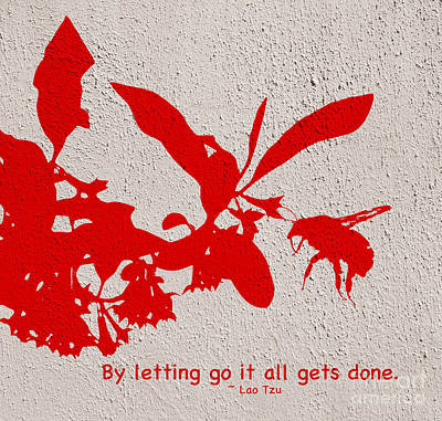 Letting Go  Poster by Kerri Farley