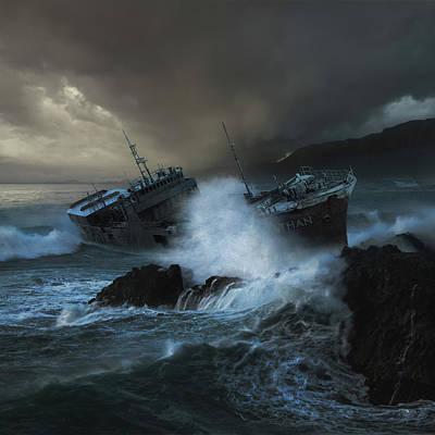 Leviathan Poster by Michal Karcz