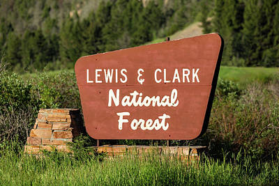 Lewis And Clark National Forest Poster