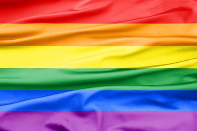Lgbt Rainbow Flag Poster