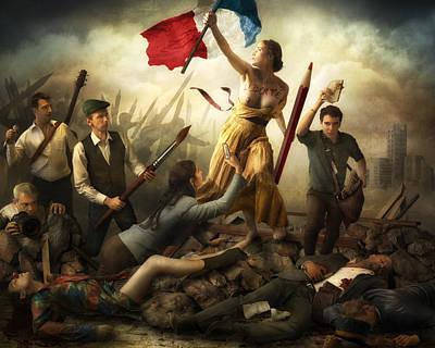 Liberta? D'expression Poster by Christophe Kiciak