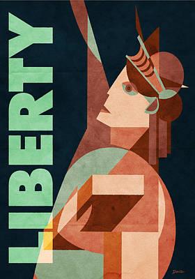 Liberty Poster by Daviz Industries