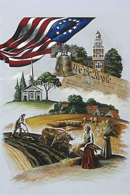 Liberty Rising Poster