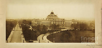 Library Of Congress Library At Washington Poster by Celestial Images