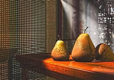 Life As A Pear Poster by Georgiana Romanovna