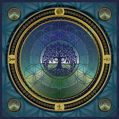 Life Mandala Poster