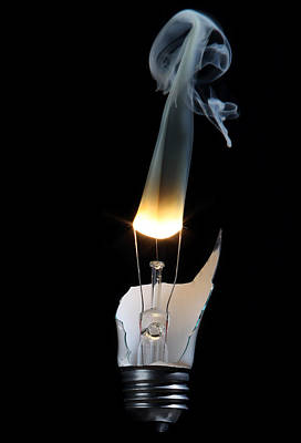 Light And Smoke Poster